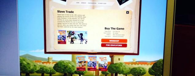 'Slave Trade' game edited following backlash