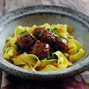 Chestnut and Herb Meatballs: Recipes