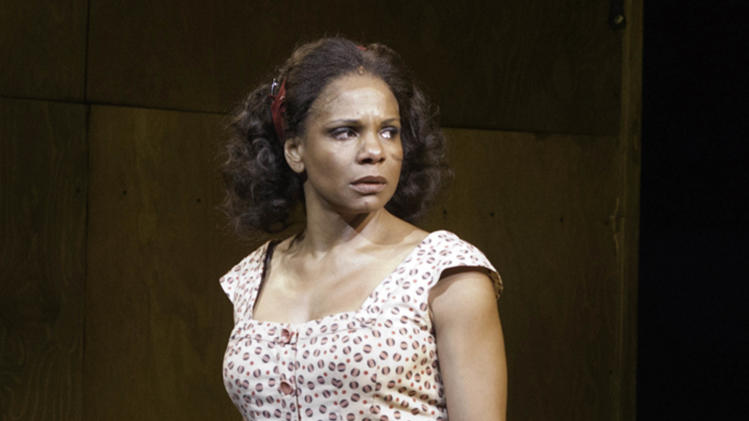 "In this theater image released by Jeffrey Richards Associates, Audra McDonald is shown in a scene from ""The Gershwins' Porgy and Bess"" in New York. McDonald is nominated for best actress in a musical at the Tony Awards, airing Sunday, June 10, on CBS. (AP Photo/Jeffrey Richards Associates, Michael J. Lutch)"
