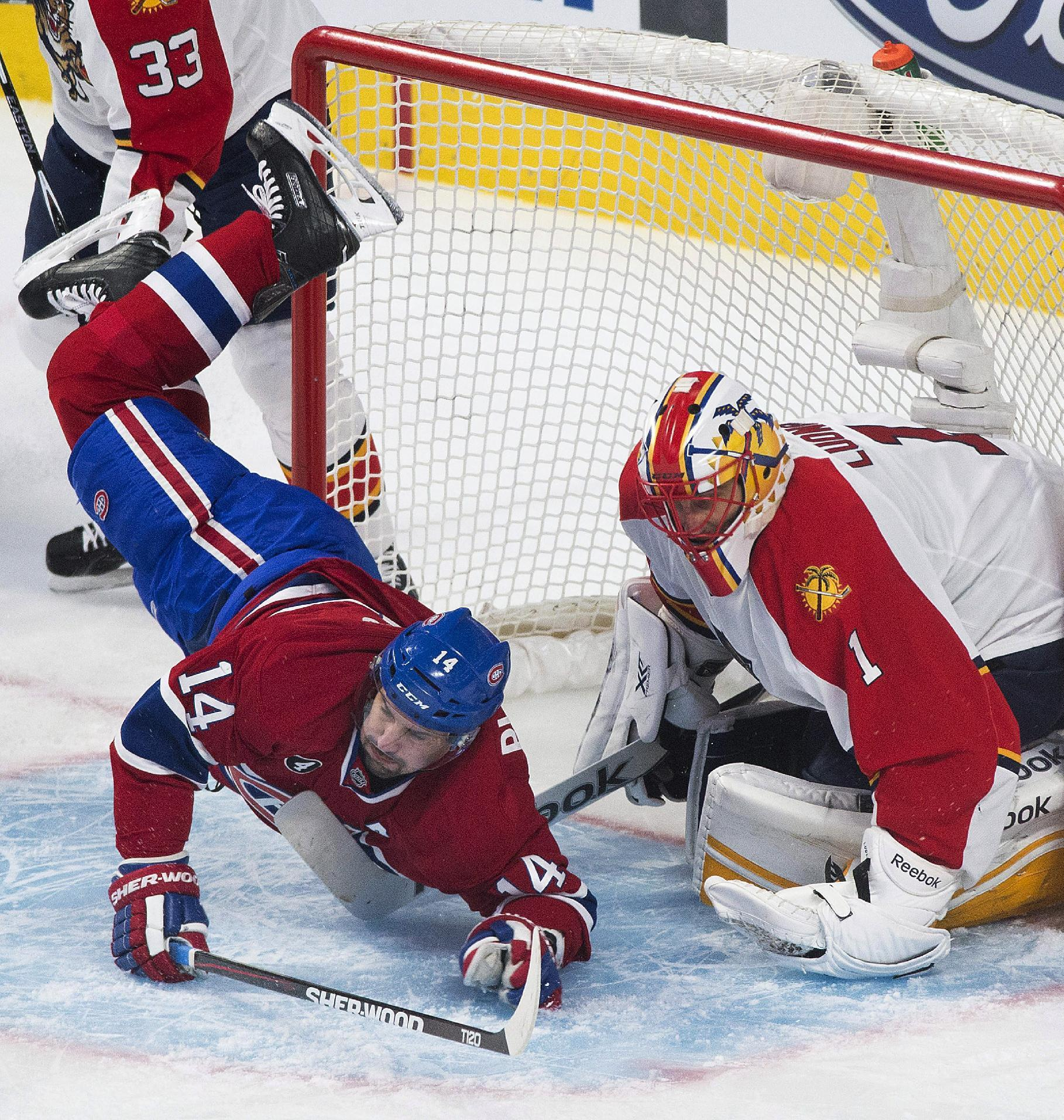 Canadiens edge Panthers 3-2 in OT, clinch playoff berth