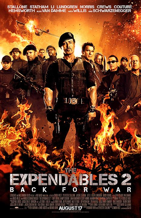 Expendables 2 Beats Whitney Houston's Sparkle With $28.8 Million Opening