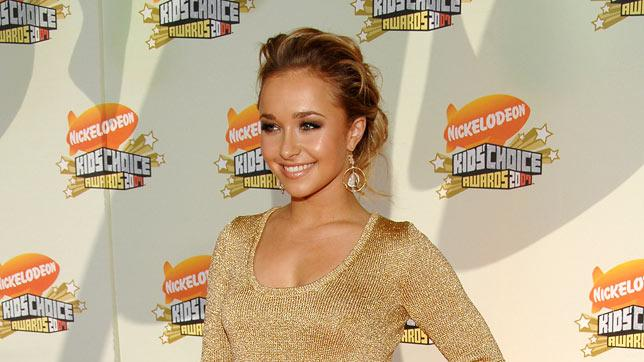 Hayden Panettiere at Nickelodeon's 20th Annual Kids' Choice Awards.