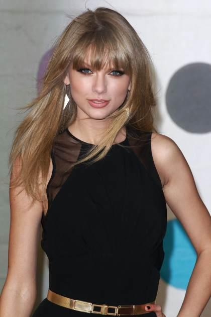 Taylor Swift attends the Brit Awards at 02 Arena on February 20, 2013 in London -- Getty Premium