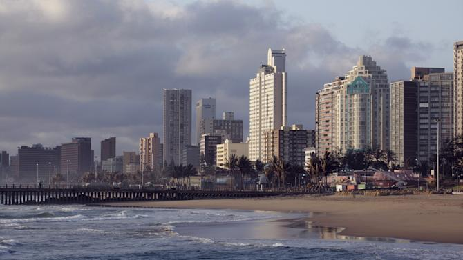 File photo of Durban's skyline and beach front
