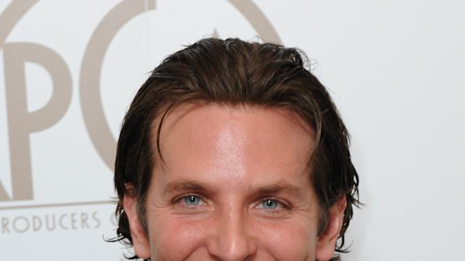 Bradley Cooper is seen backstage at the 24th Annual Producers Guild (PGA) Awards at the Beverly Hilton Hotel on Saturday Jan. 26, 2013, in Beverly Hills, Calif. (Photo by Jordan Strauss/Invision for Producers Guild/AP Images)