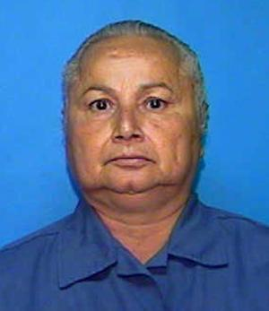 """This undated Florida Department of Corrections booking mug shows Griselda Blanco. Blanco, a convicted drug trafficker who was once known as the """"Godmother"""" and the """"Queen of Cocaine,"""" has been shot to death by an unidentified gunman, police in Colombia said Tuesday, Sept. 4, 2012. (AP Photo/Florida Dept. of Corrections via The Miami Herald)"""