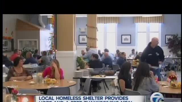 Local homeless shelter provides hope and a free meal