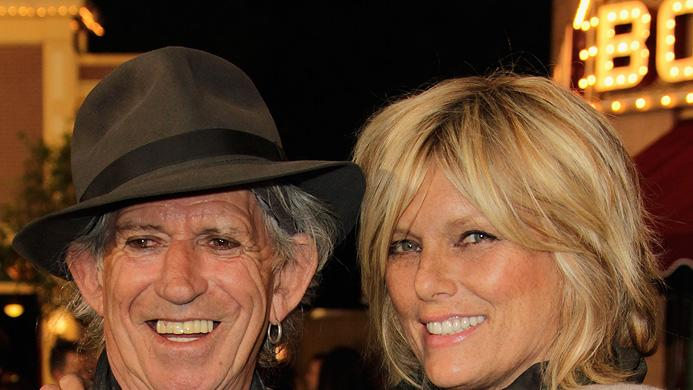 Pirates of the Caribbean On Stranger Tides LA Premiere 2011 Keith Richards