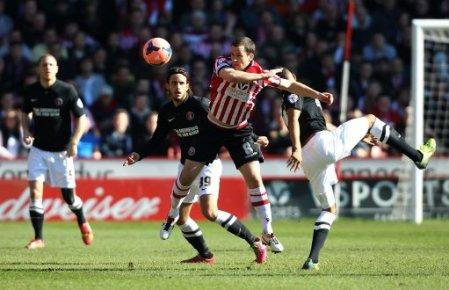 Soccer - FA Cup - Sixth Round - Sheffield United v Charlton Athletic - Bramall Lane