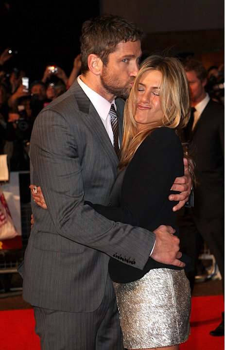 The Bounty Hunter UK Premiere 2010 Gerard Butler Jennifer Aniston