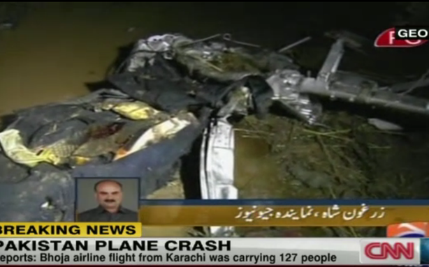 Boeing 737 Crashes in Pakistan with 127 On Board; 118 Reported Dead