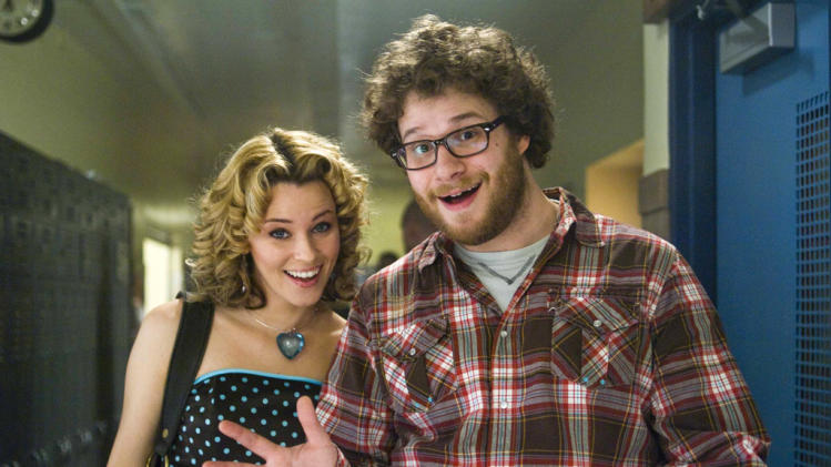 Elizabeth Banks Seth Rogen Zack and Miri Make a Porno Production Stills The Weinstein Company 2008