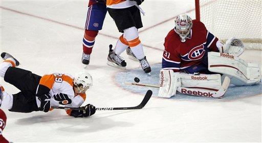 Flyers beat Canadiens for 7th straight win