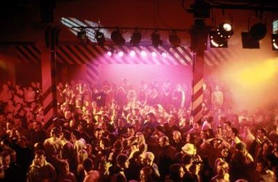 The renowned Hacienda Club in MGM's 24 Hour Party People