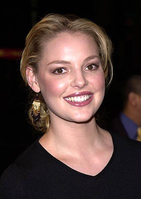 Premiere: Katherine Heigl at the Hollywood premiere of Warner Brothers' Valentine - 2/1/2001 