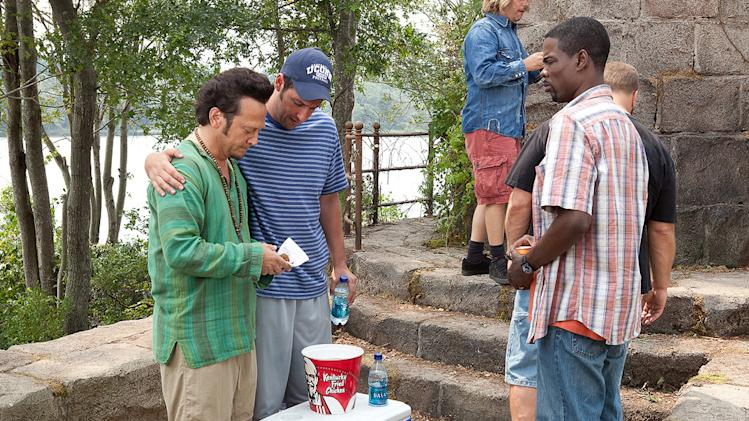 Grown Ups Columbia Pictures 2010 Rob Schneider Adam Sandler Chris Rock