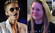 Justin Bieber: Late Arrival At O2 Angers Fans