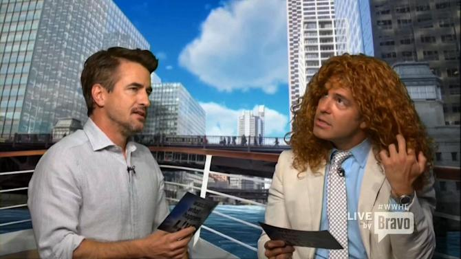 Andy Cohen as Julia Roberts on 'Clubhouse Playhouse'