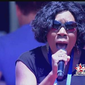 Melinda Doolittle Rehearses For Boston's Fourth Of July Celebration