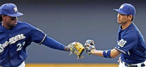 Brewers beat Cubs 4-3 in 10 innings
