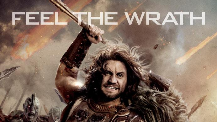 Wrath of the Titans Poster Banner