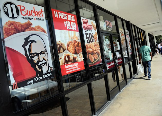 KFC vende pollo enfermo en China