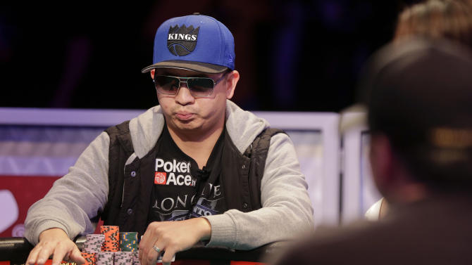 Newbies rule in final table for WSOP main event