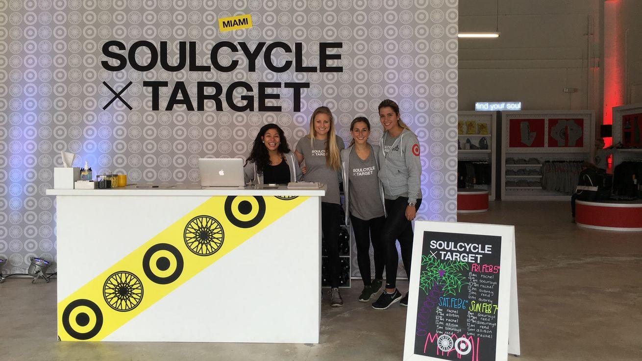 We're Gifting a Ride at Target X SoulCycle's Pop-Up This Weekend!