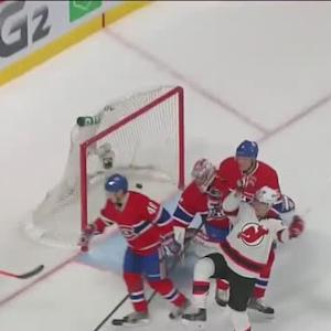 Steve Bernier redirects one five-hole