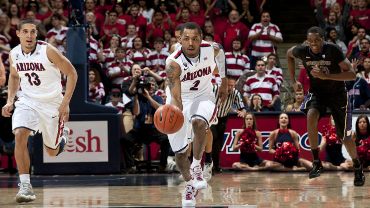 NCAA Basketball: Washington at Arizona