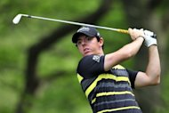Two straight missed cuts at prestigious events, the US tour's Players Championship and the European Tour's BMW PGA Championship at Wentworth, have seen Rory McIlroy, seen here on May 24, surrender the world number one ranking
