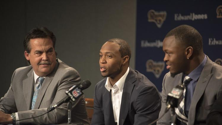 NFL: Saint Louis Rams-Press Conference