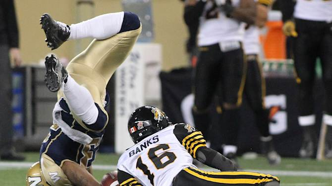 Hamilton Tiger-Cats v Winnipeg Blue Bombers