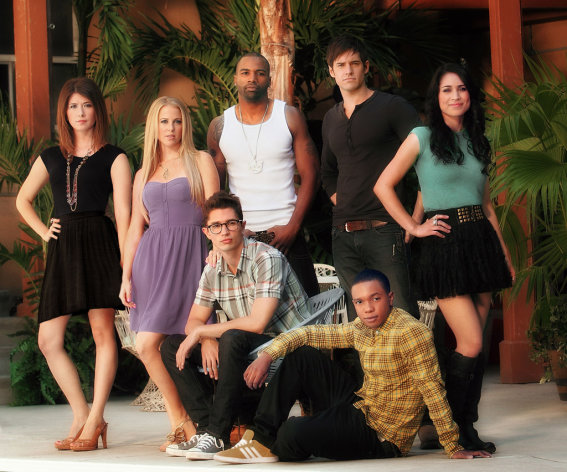 The cast of &quot;L.A. Complex&quot;