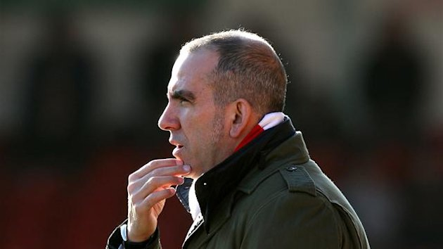 FOOTBALL Swindon manager Paolo Di Canio