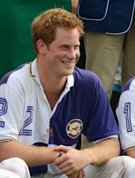 Prince Harry is seen at Cirencester Park Polo Club in Cirencester, England on August 5, 2012 -- Getty Premium