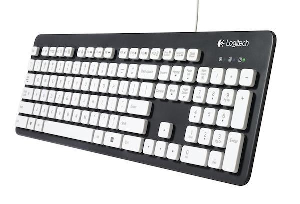 Logitech Unveils Washable Keyboard