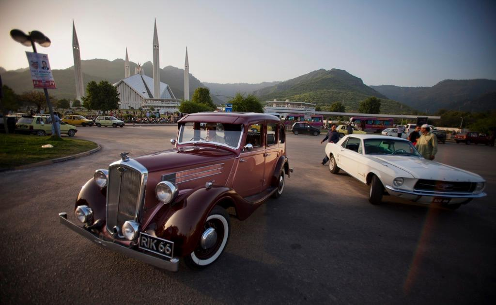 From Corvettes To Mustangs, Meet Pakistan's Vintage Car Collectors