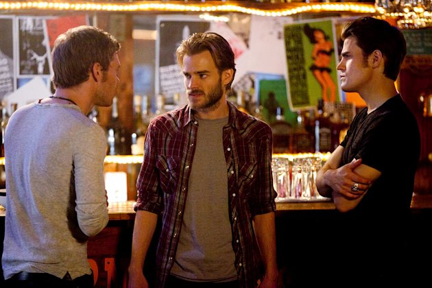 """THE BIRTHDAY""--LtoR: Joseph Morgan as Klaus, David Gallagher as Ray, and Paul Wesley as Stefan on THE VAMPIRE DIARIES on The CW. Photo: Bob Mahoney/The CW ©2011 The CW Network.  All Rights Reserved."