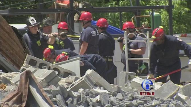 Worker killed in Cherry Hill collapse ID'd