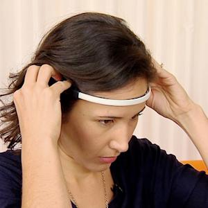 High-tech headband senses brainwaves to calm mind