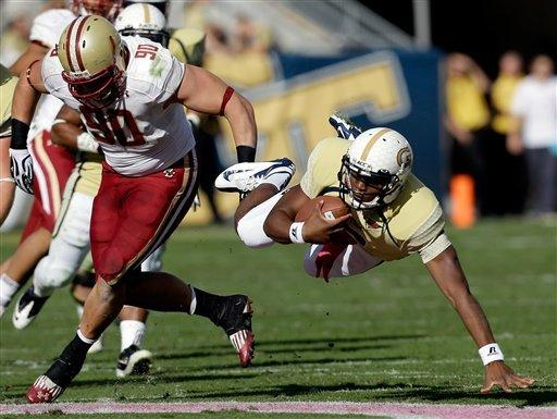 Georgia Tech routs hapless Boston College 37-17