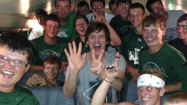 Jim Carrey Surprises a Baseball Team