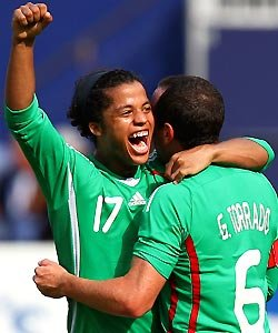 Giovani Dos Santos and Gerardo Torrado