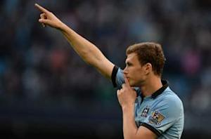 Manchester City striker Dzeko uncertain about his future