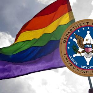 THE JUSTICE DEPARTMENT BACKS GAY MARRIAGE