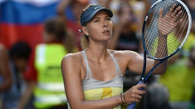Maria Sharapova - 2nd round Australian Open 2013 (GettyImages)