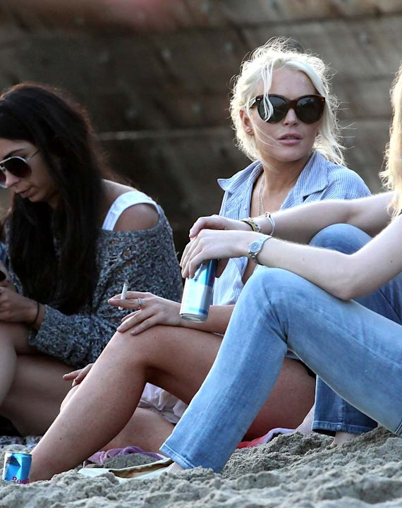 Lindsay Lohan Malibu