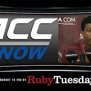 Jameis Winston Discusses Suspension | ACC Now