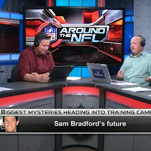 Around the NFL: Philadelphia Eagles quarterback Sam Bradford's future